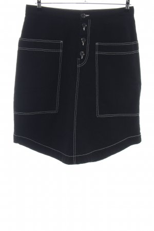 Monki Denim Skirt black casual look