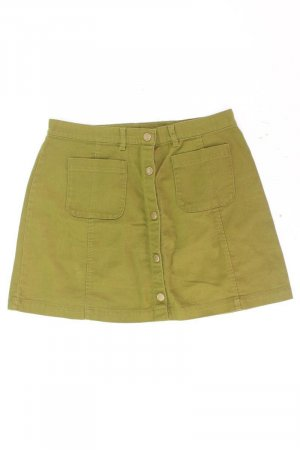 Monki Jeansrock Größe 42 grün aus Baumwolle
