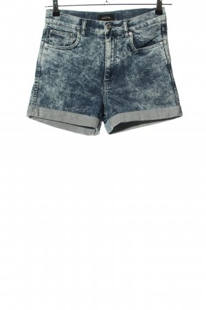 Monki Jeansshorts blau Casual-Look