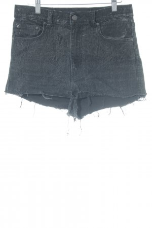 Monki Jeansshorts schwarz Casual-Look