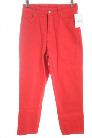 Monki Karottenjeans rot Casual-Look