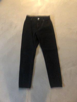 Monki Hoge taille jeans zwart