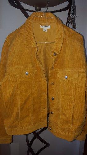 Monki Kord Jacke gelb orange M Gr.38