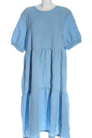 Monki Shortsleeve Dress blue classic style