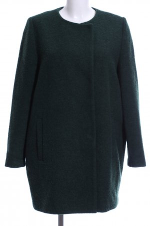Monki Manteau court vert style d'affaires