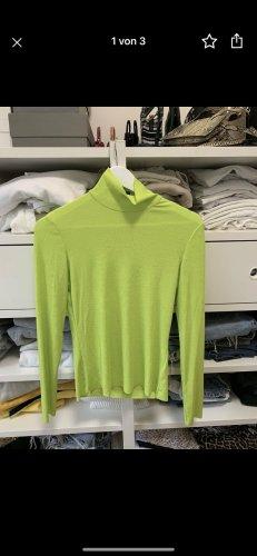 Monki Długi sweter zielona łąka-zielony neonowy