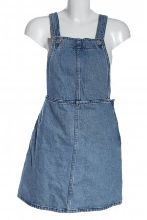 Monki Trägerkleid blau Casual-Look