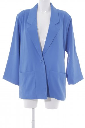 Monki Long-Blazer blau Elegant