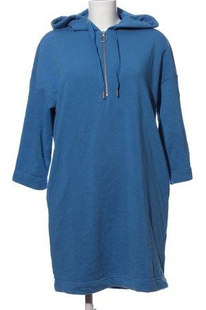 Monki Sweater Dress blue casual look