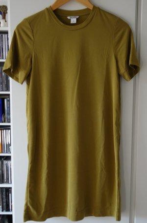 Monki Camicia lunga verde oliva