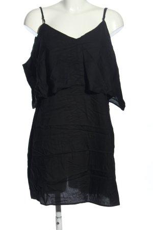 Monki Lange top zwart casual uitstraling