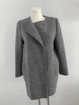 Monki Manteau court gris