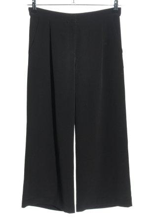 Monki Spodnie Marlena czarny W stylu biznesowym