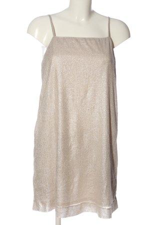 Monki Minikleid goldfarben Casual-Look