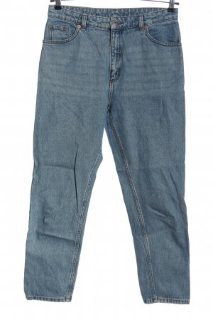 Monki Mom-Jeans blau Casual-Look