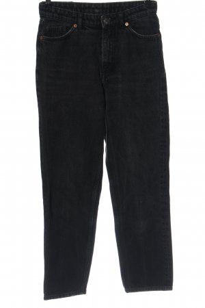 Monki Mom Fit negro look casual