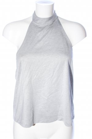 Monki Halter Top light grey casual look