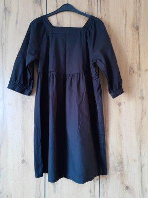 Monki Babydoll-jurk zwart Katoen