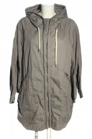 Monki Oversized jas lichtgrijs casual uitstraling