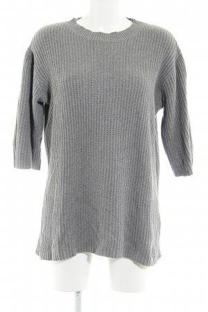 Monki Oversized Pullover grau Casual-Look