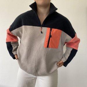 Monki Pull polaire multicolore