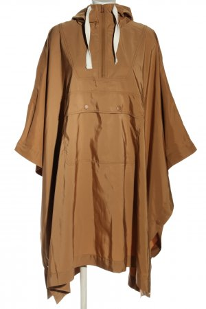 Monki Rain Poncho nude casual look