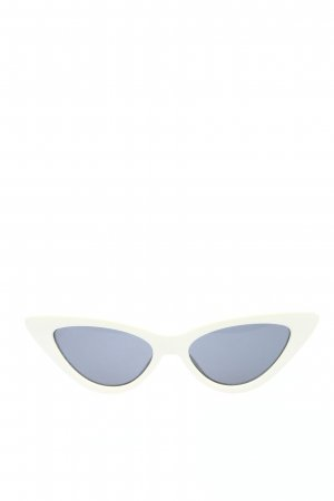 Monki Retro Glasses white casual look
