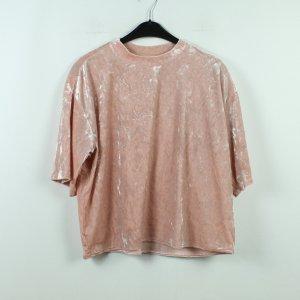 Monki Camicia oversize rosa Poliestere