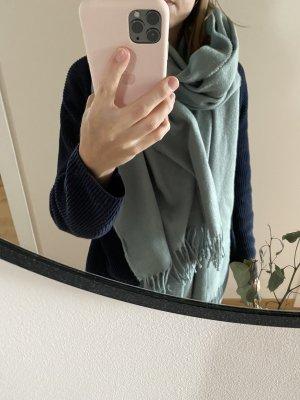 Monki Schal mint/türkis