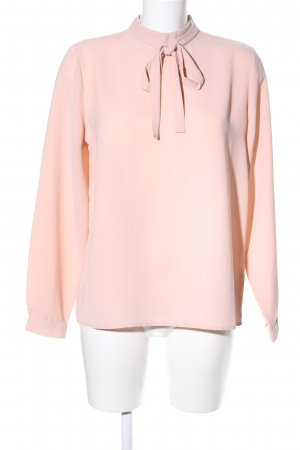 Monki Blusa con lazo nude estilo «business»