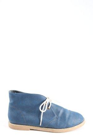 Monki Schnürschuhe blau Casual-Look