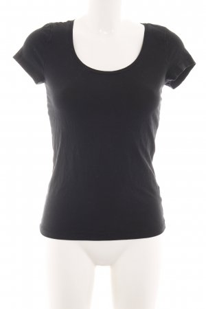 Monki T-Shirt schwarz Casual-Look