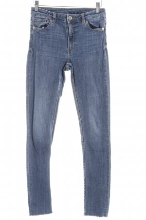 Monki Skinny Jeans blau Casual-Look