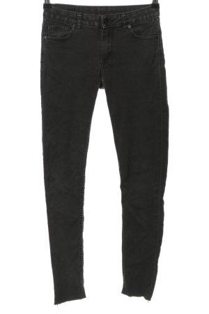 Monki Slim Jeans schwarz Casual-Look