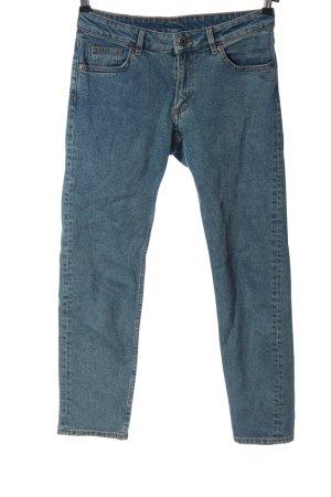 Monki Jeans slim bleu style décontracté