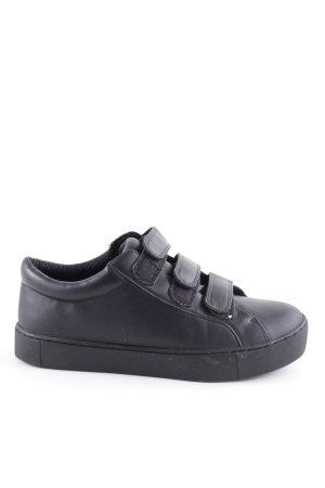 Monki Sneaker Klettverschluss schwarz schlichter Stil