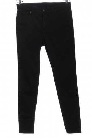Monki Strapped Trousers black casual look
