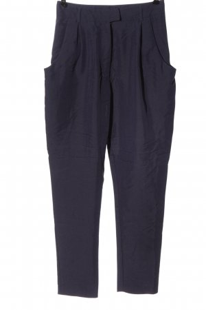 Monki Stoffhose lila Business-Look