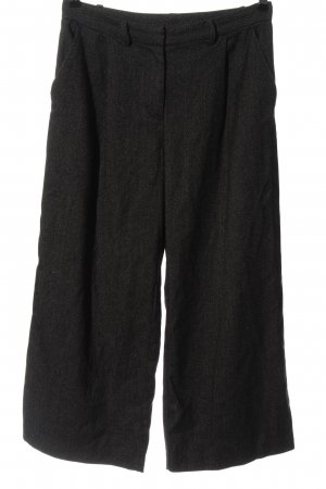 Monki Pantalone jersey nero puntinato stile casual