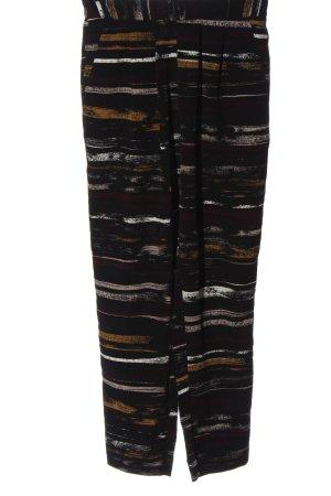 Monki Pantalone jersey motivo a righe stile casual