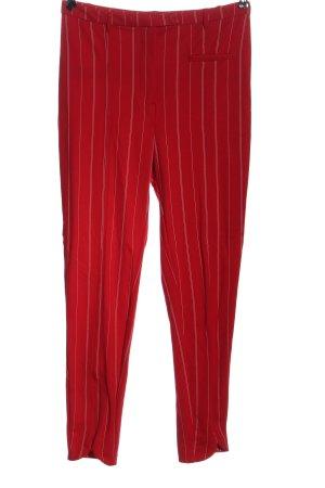 Monki Jersey Pants red striped pattern casual look