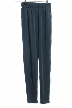 Monki Stoffhose blau Casual-Look