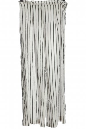 Monki Jersey Pants white-black striped pattern casual look