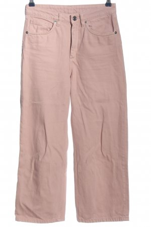 Monki Straight-Leg Jeans pink Casual-Look