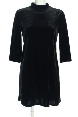 Monki Stretchkleid schwarz Elegant