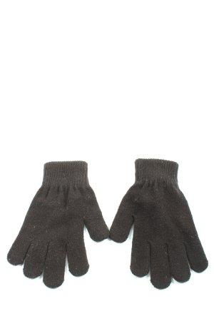 Monki Gants en tricot noir style décontracté