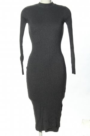 Monki Knitted Dress light grey casual look