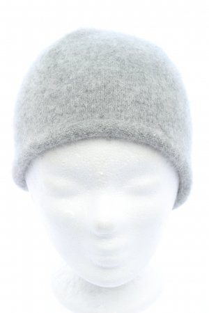 Monki Knitted Hat light grey casual look