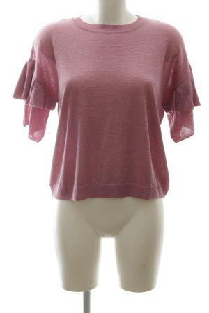 Monki Strickshirt pink Casual-Look