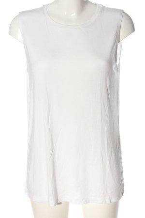Monki Gebreide top wit casual uitstraling